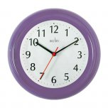 Acctim Wycombe Wall Clock Purple