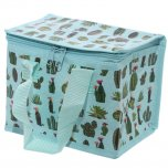 Woven Lunch Box Cool Bag Cactus Design