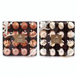 Festive Wonderland Luxury Baubles (Set of 16) - Assorted Luxury Metallic
