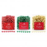 Festive Wonderland 8M Bead Chain - Assorted Classic Christmas