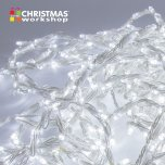 The Christmas Workshop Waterflow Curtain Chaser Lights 240 LED - White