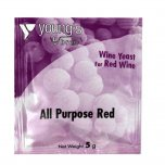 Young's Ubrew All Purpose Red Wine Yeast Sachet 5g