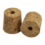Young's Ubrew Cork Bung 1 Gallon Size Bored (Pack of 2)