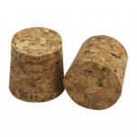 Young's Ubrew Cork Bung 1 Gallon Size Solid (Pack of 2)