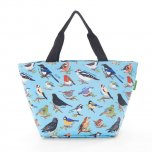 Eco Chic Blue Wild Birds Cool Bag