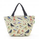 Eco Chic Green Wild Birds Cool Bag
