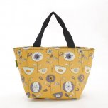 Eco Chic Mustard 1950's Flower Cool Bag
