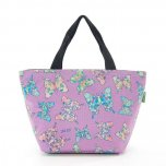 Eco Chic Lilac Butterfly Cool Bag