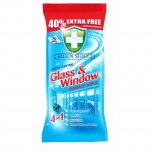 Green Shield Quick Drying Glass & Window Surface Wipes (Pack of 70)