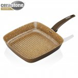 Tower Grill Pan with Ceramic Gold Coating 25cm