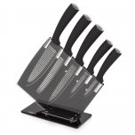 Tower 5 Piece Groove Knife Block