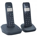 Binatone Twin Dect Phone Black