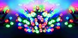 Premier Decorations Timelights™ Battery Operated Multi-Action 100 LED - Multicoloured