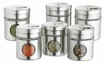 Home Made Spice Jar Set, Pack of 6