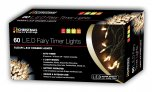 The Christmas Workshop Fairy Timer Lights 60 LED - Warm White