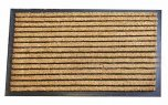 Apollo Housewares Doormat Thick Coir Rib 45cm x 75cm