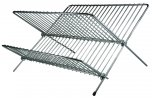 Apollo Chrome Folding Small Dish Drainer