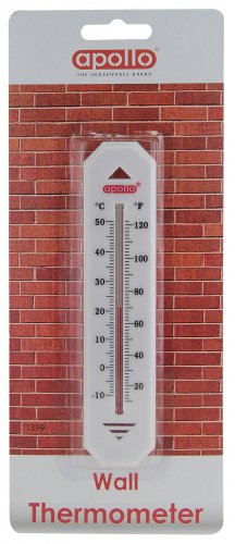 Apollo Housewares Wall Thermometer Economy