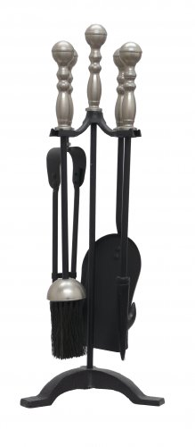 Manor Reproductions Companion Set Westminster - Black/Pewter - 55