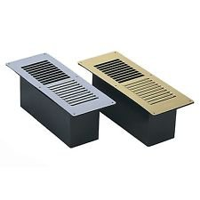 Manor Reproductions Floor Vent - Brass