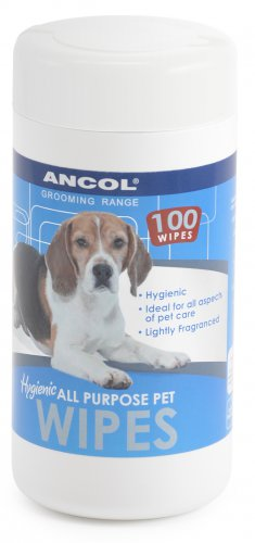 Ancol Hygienic Pet Wipes Pack of 100