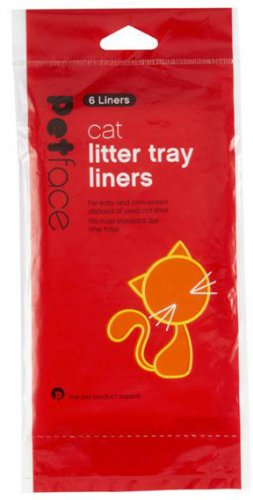 Petface Cat Litter Tray Liners (6 Liners)