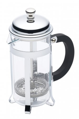 Le'Xpress Three Cup Chrome Plated Cafetiere