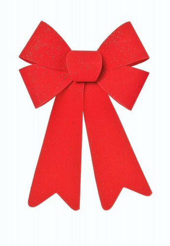 Premier Decorations Red PVC Bow 25 x 15cm