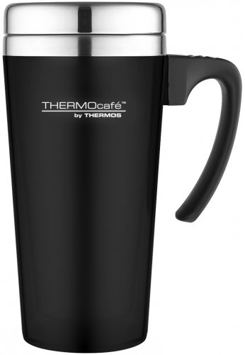 Thermos ThermoCafe Travel Mug Black 0.4L