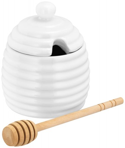 Judge Table Essentials Ivory Porcelain Honey Drizzle Pot 200ml