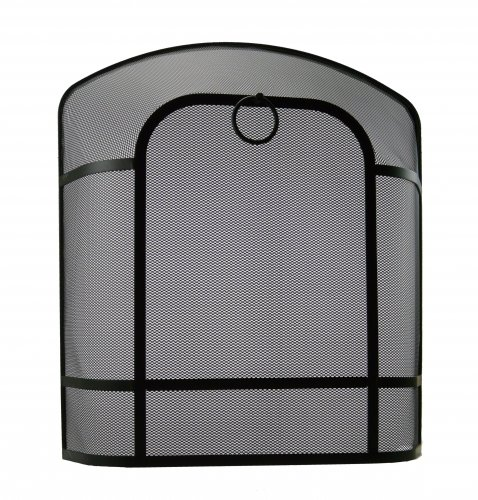 Manor Reproductions Chiltern Fireguard - Black - Various Sizes