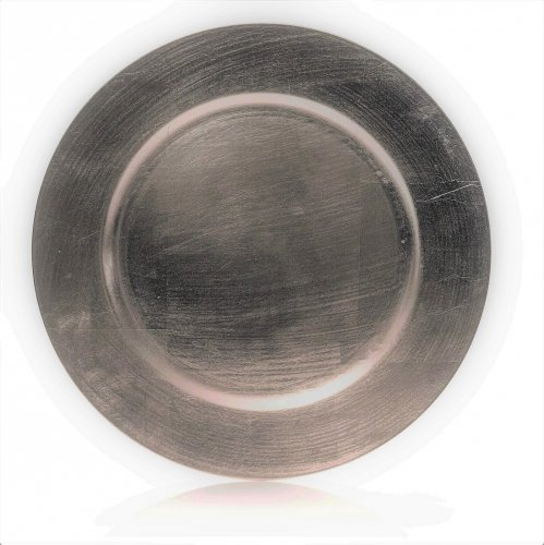 Premier Decorations Charger Plate 33cm - Silver CLEARANCE