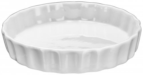 Judge Table Essentials Ivory Porcelain Mini Flan Dish 12cm