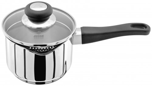 Judge Vista 18/10 Stainless Steel Draining Saucepan 14cm