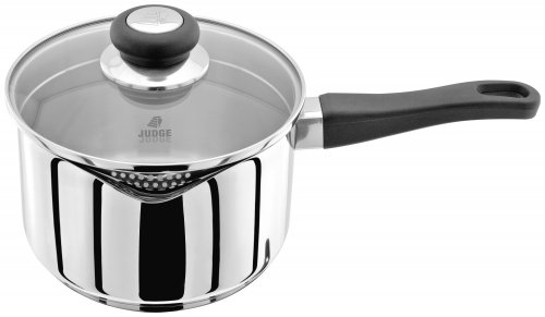 Judge Vista 18/10 Stainless Steel Draining Saucepan 18cm