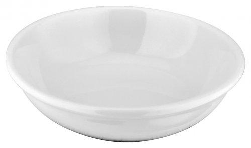 Judge Table Essentials Ivory Porcelain Sauce Dish 8cm