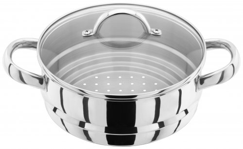 Judge Steamer Insert with Glass Lid 16/18/20cm