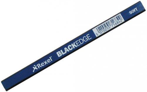 Rexel Blue Soft Carpenter's Pencil
