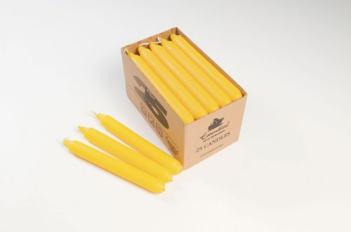 """Essential Housewares Candle 7"""" - Yellow"""