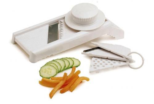 KitchenCraft Plastic 7 in 1 Mandoline and Grater