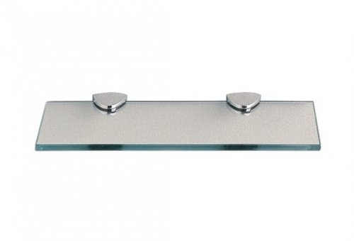 Miller Classic Glass Shelf 300mm with Chrome Brackets