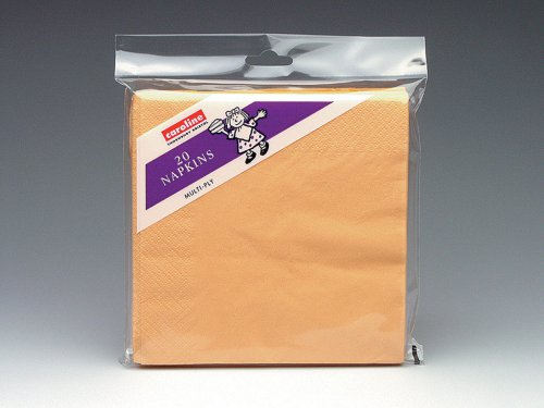 Caroline 2 Ply Napkins Peach (Pack of 20)