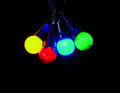 Premier Decorations Pearl Berry Lights Multi-Action 100 LED - Multicoloured