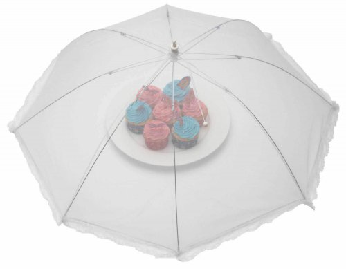 KitchenCraft Umbrella Food Cover White 76cm