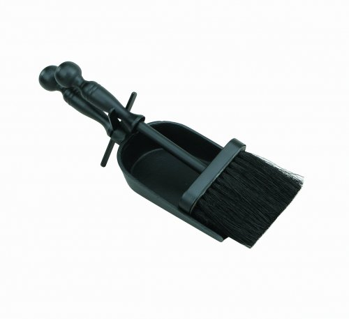 Manor Reproductions Hearth Tidy Duchess - Black - 30