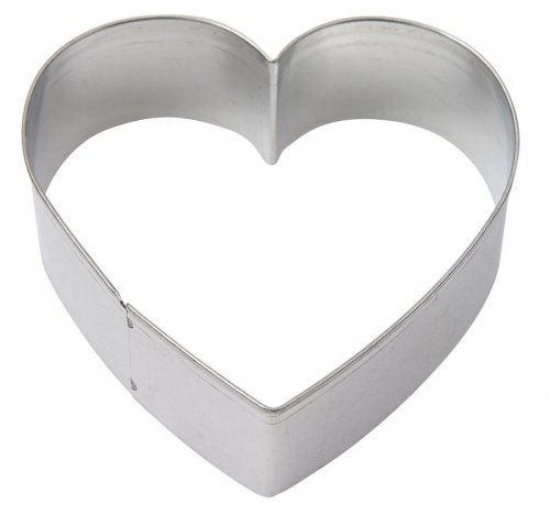 cookie cutter mini heart 3cm tin plate pack of 12 3cm