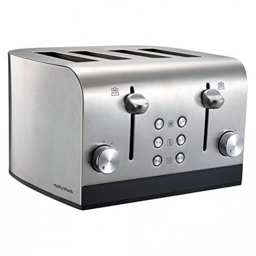 Morphy Richards Equip 4 Slice Toaster Stainless Steel