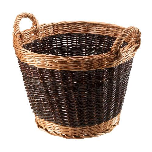 Manor Reproductions Log Basket Duo Tone - 37