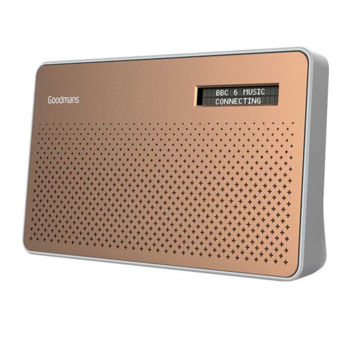 Goodmans Canvas DAB Radio Copper