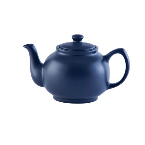 Price & Kensington Matt Navy Blue 6 Cup Teapot